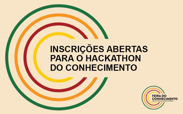 Inscrições abertas para o Hackathon do Conhecimento