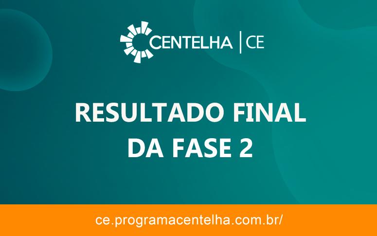 Programa Centelha: Resultado final da Fase 2